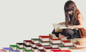bambina biblioteca