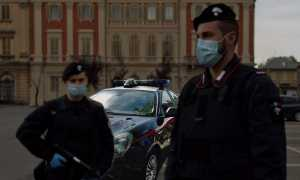 carabinieri mascherina quater