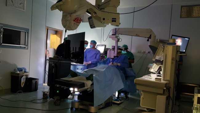 chirurgia retina