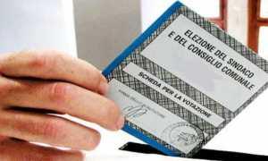 elezioni scheda comune